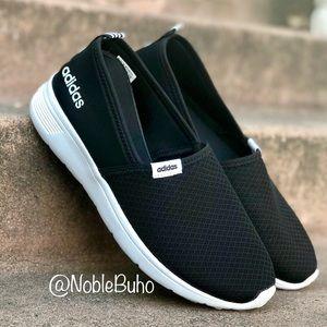 Adidas Lite Racer Slip-On - Core Black 9.5 NEW